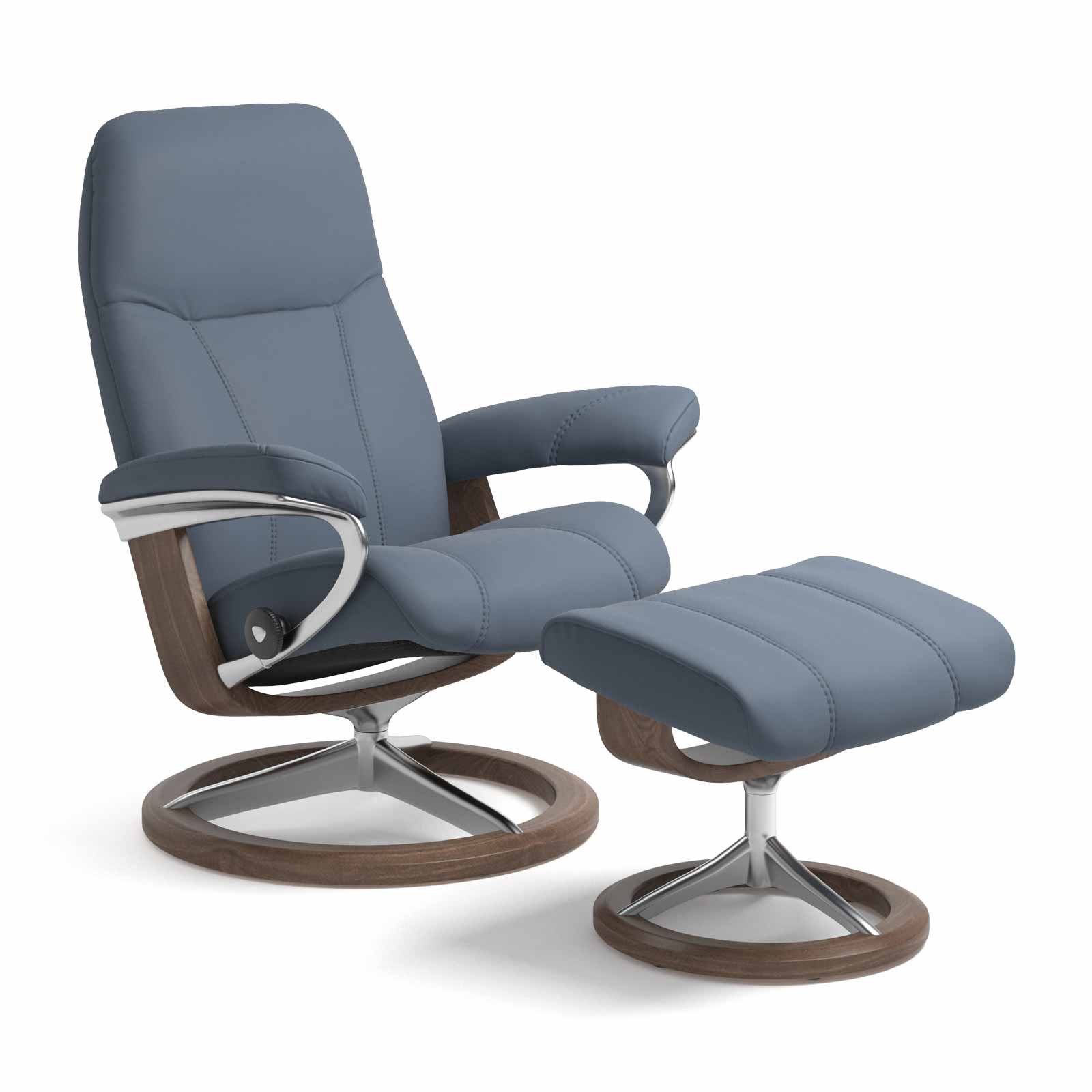 Stressless Magic Signature Sessel Stressless Sessel Consul Signature Paloma Sparrow Blue Mit