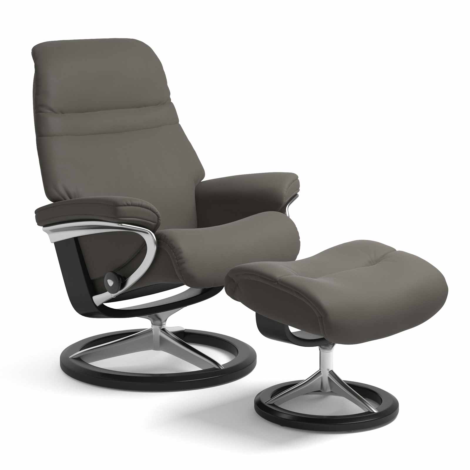 Stressless Wing Signature Sessel Stressless Sessel Sunrise Signature Paloma Metal Grey Mit