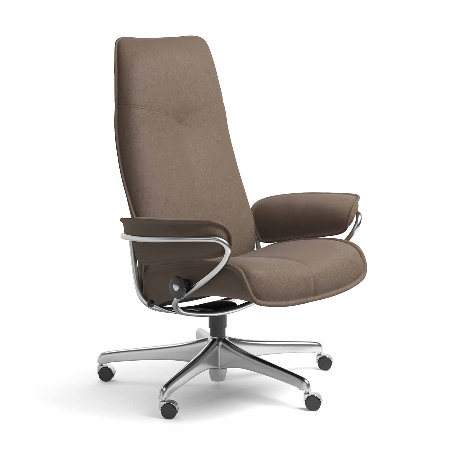 Stressless Sessel City High Back Stressless Sessel Bürostuhl City High Back Batick Mole