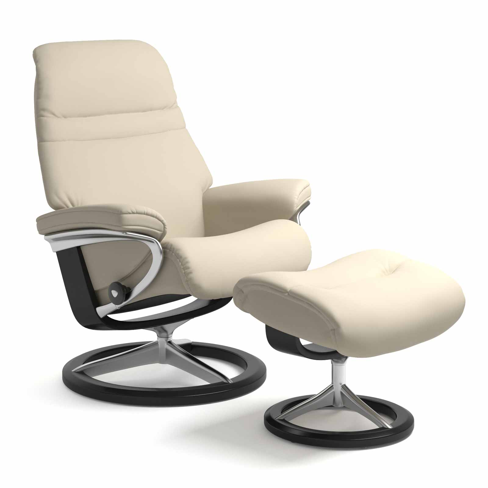 Stressless Magic Signature Sessel Stressless Sessel Sunrise Signature Batick Cream Mit Hocker