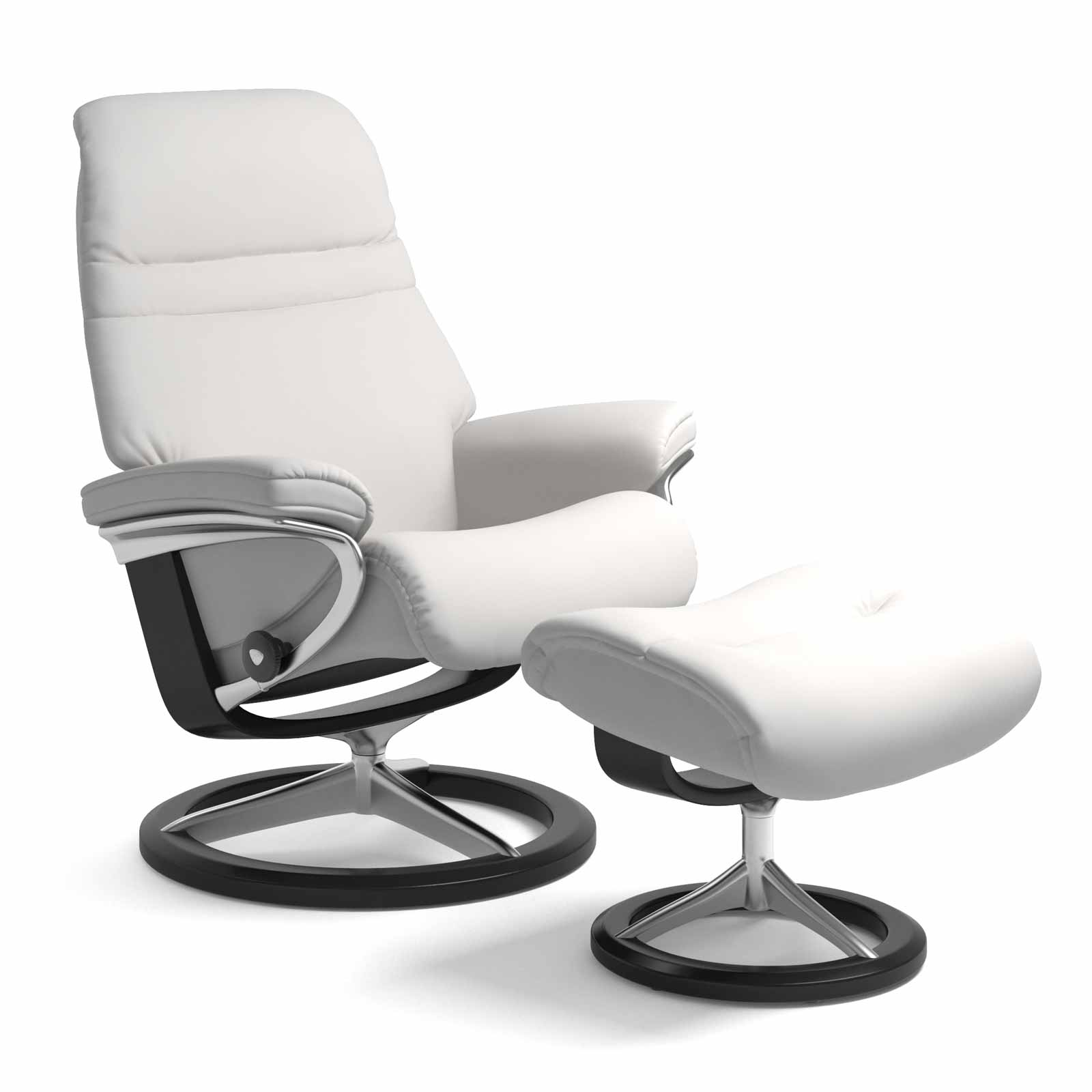 Stressless Wing Signature Sessel Stressless Sessel Sunrise Signature Batick Snow Mit Hocker