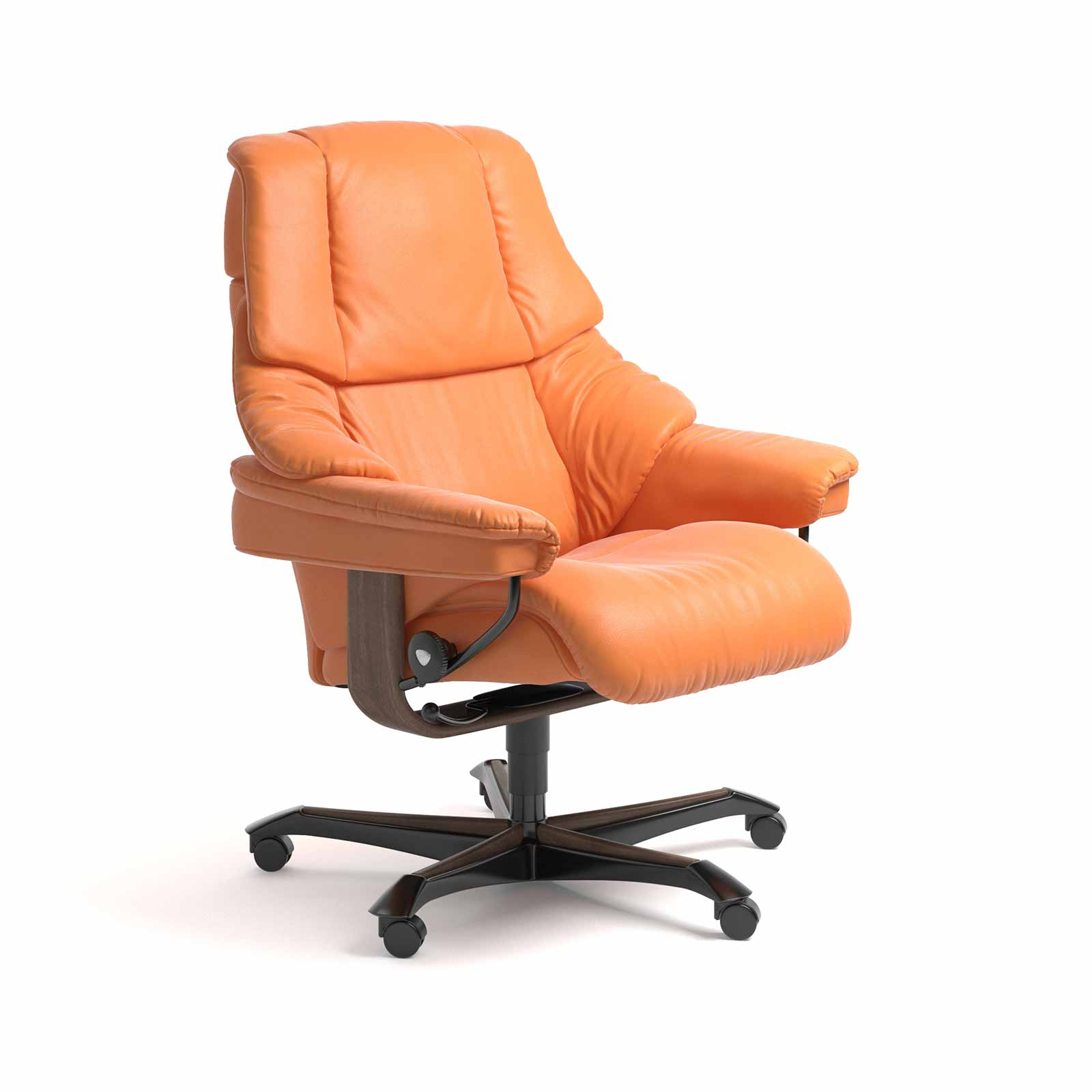 Stressless Bürostuhl Stressless Sessel Reno Home Office Paloma Apricot Orange