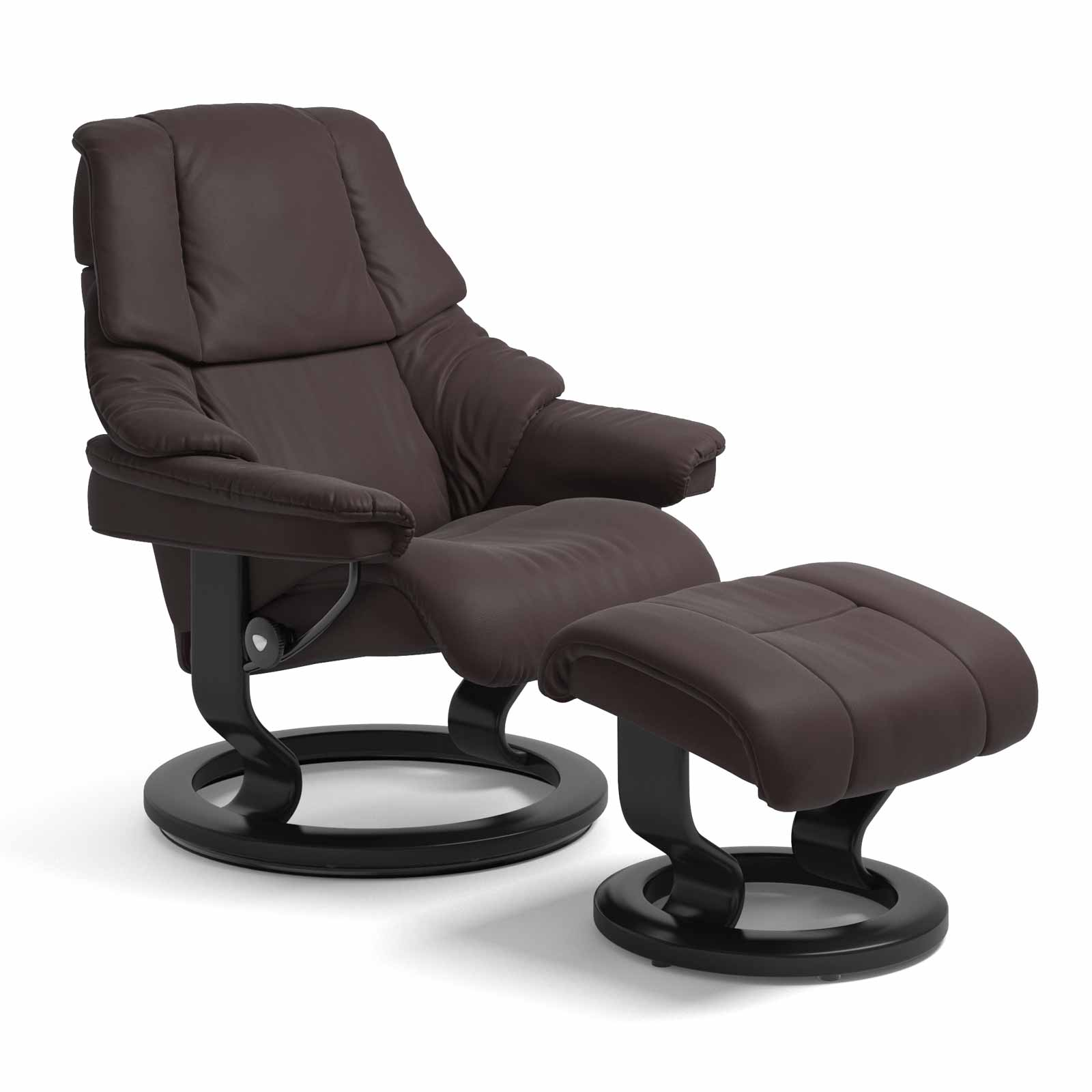 Stressless Sessel Mit Hocker Stressless Sessel Reno Classic Leder Paloma Chocolate Mit Hocker