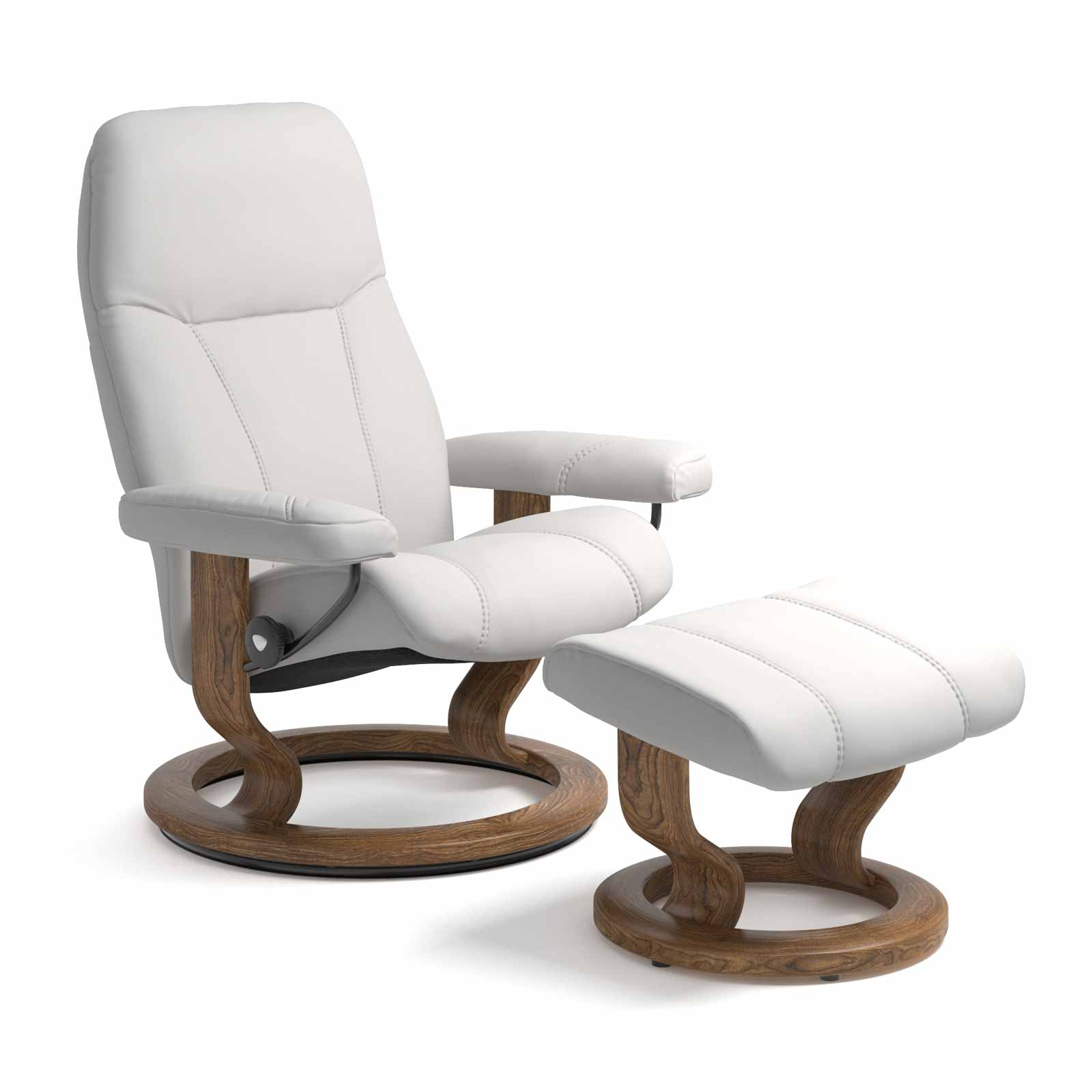 Stressless Sessel Berlin Stressless Consul Classic Batick Snow Mit Hocker Stressless