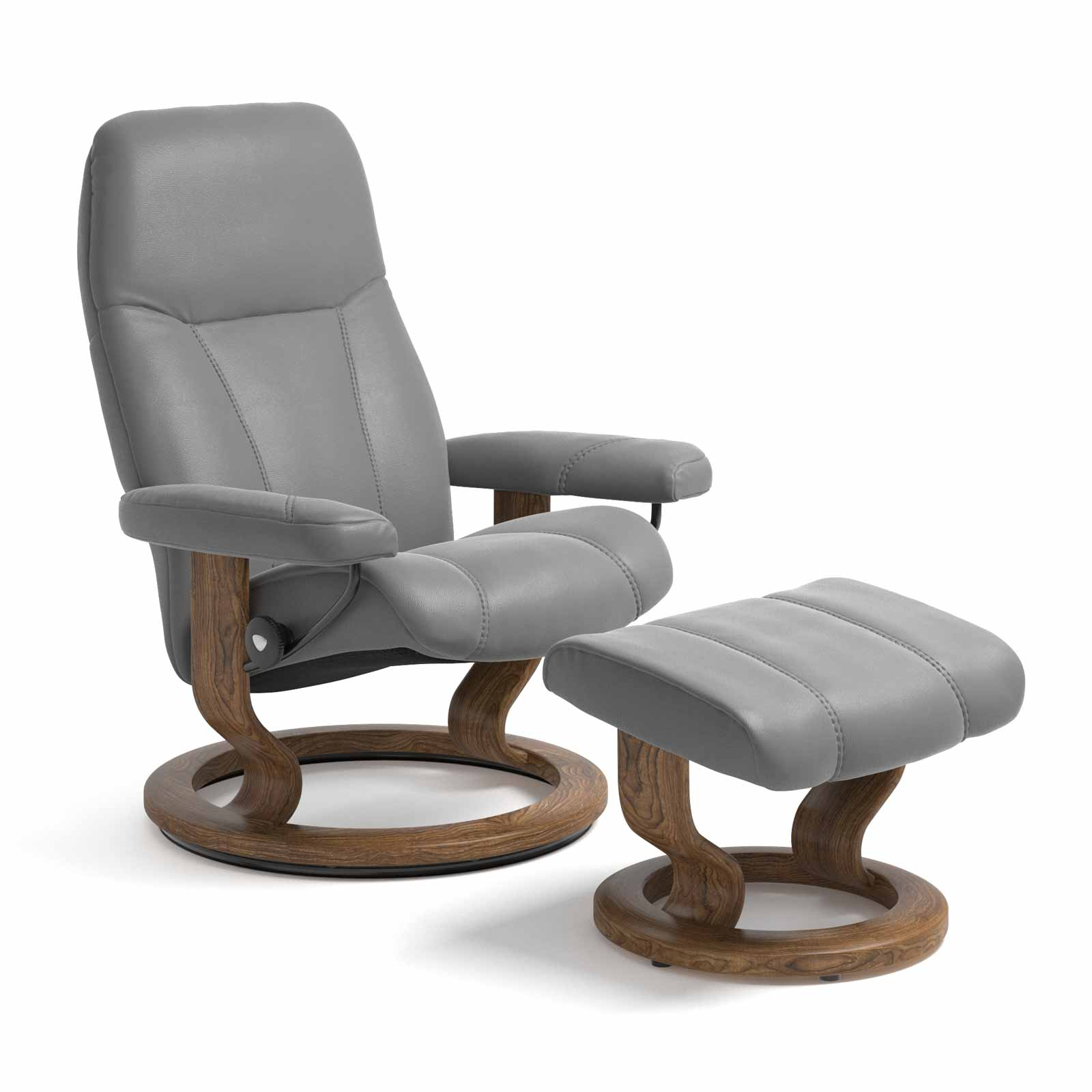 Stressless Sessel Aktion Stressless Consul Classic Batick Wild Dove Mit Hocker
