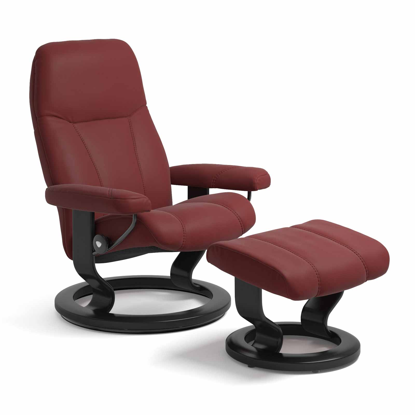 Stressless Sessel Aktion Stressless Consul Classic Paloma Cherry Mit Hocker