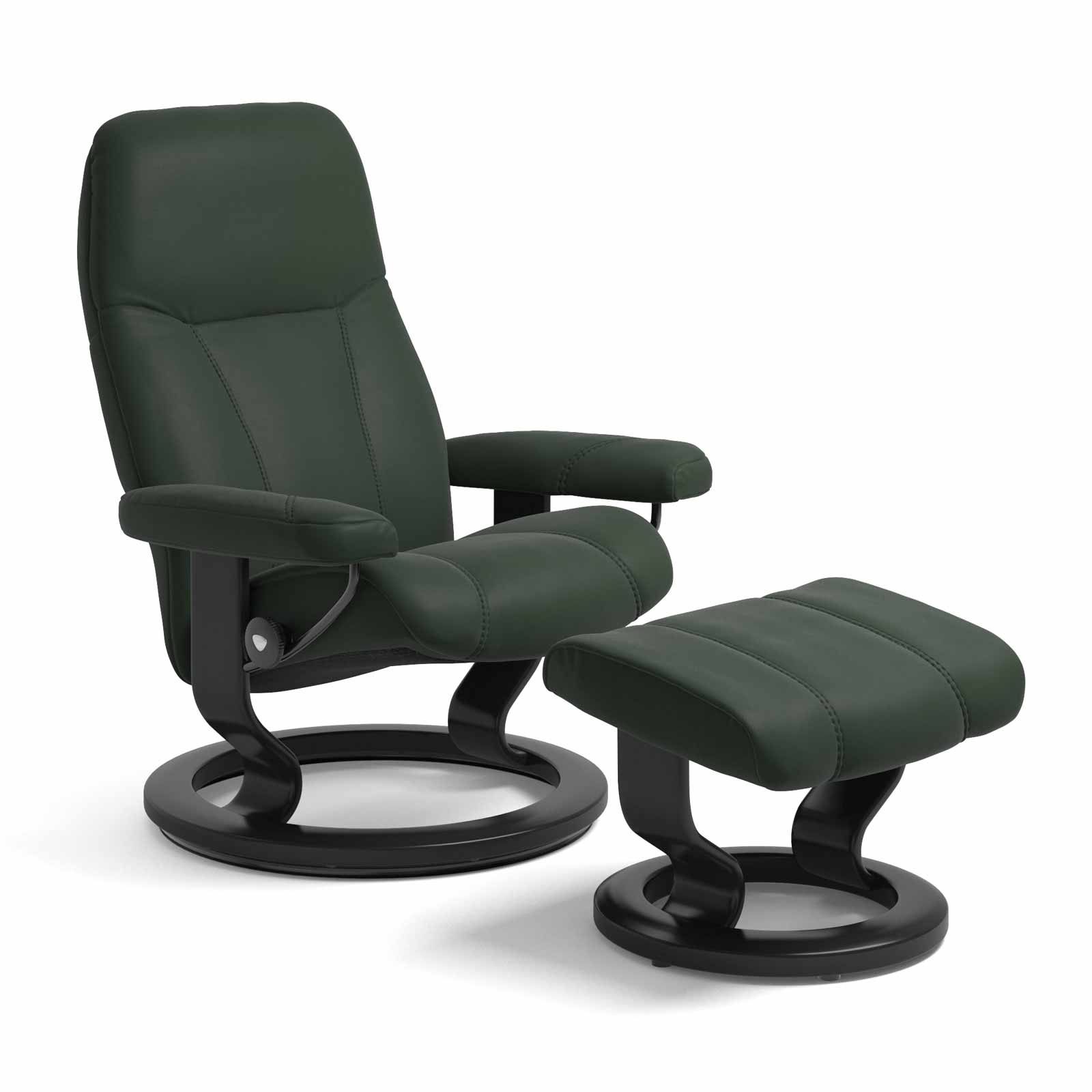 Forest Sessel Stressless Consul Classic New Forest Mit Hocker Stressless