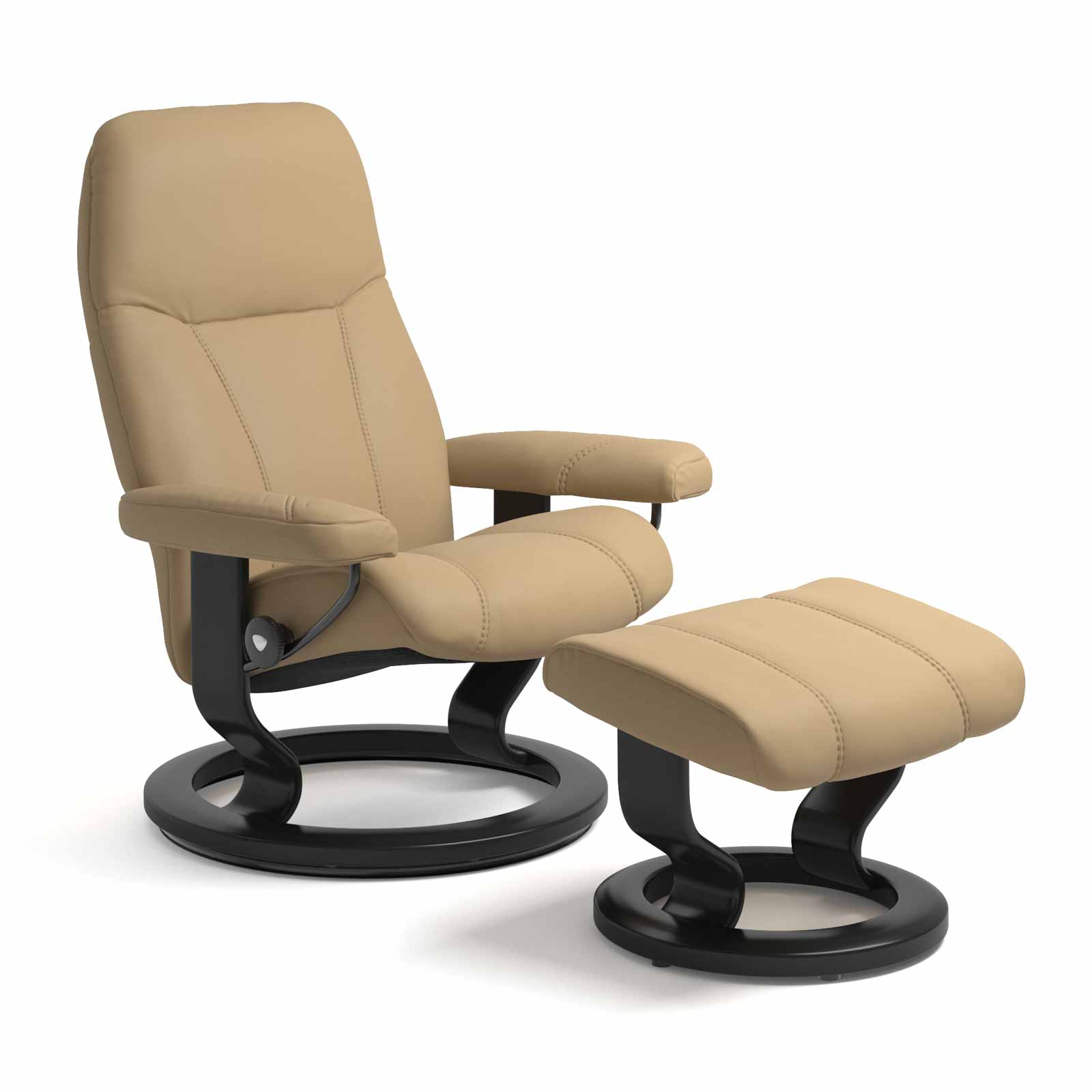 Sessel Sand Stressless Consul Classic Sand Mit Hocker Stressless Shop