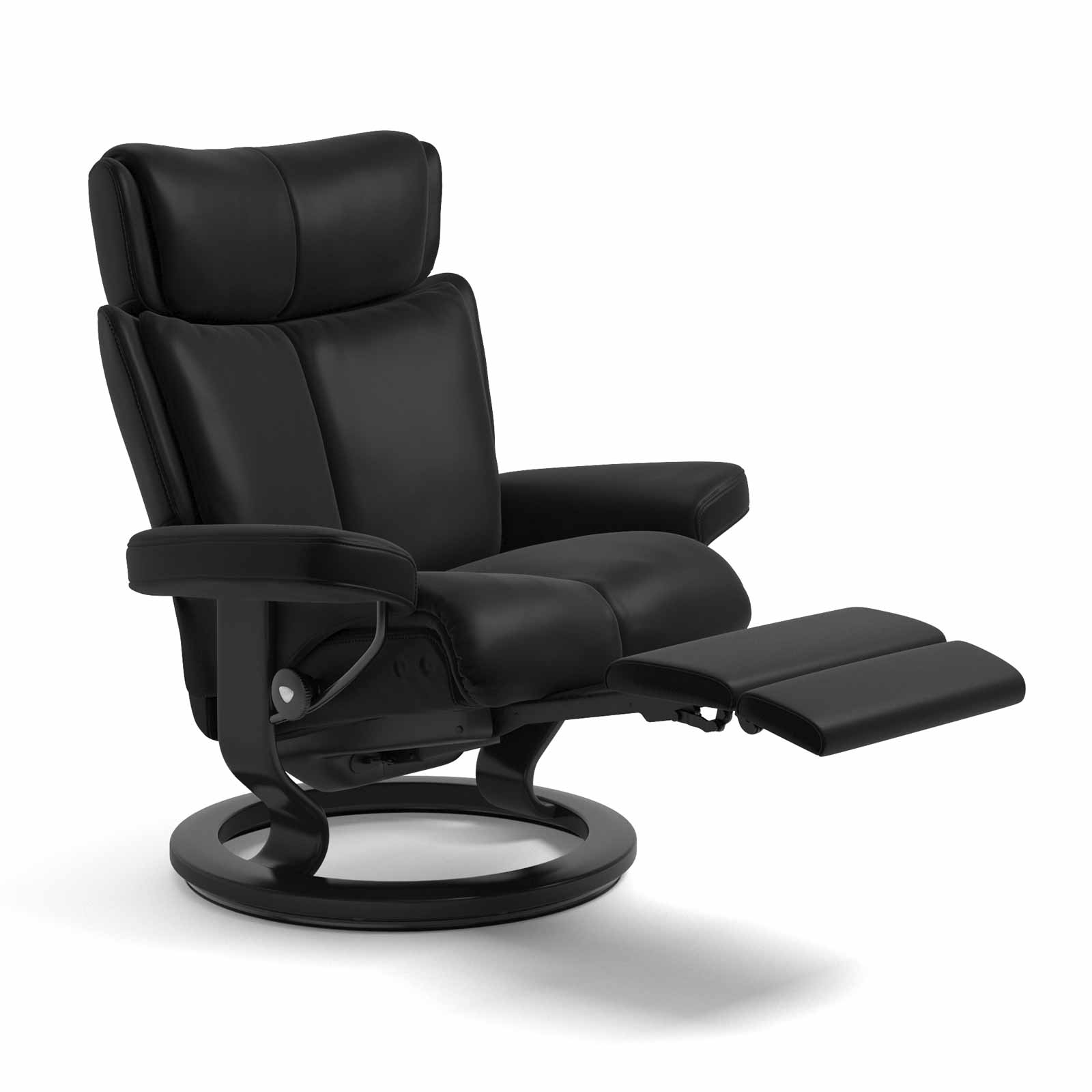 Sessel Leder Schwarz Stressless Sessel Magic Legcomfort Leder Batick Schwarz