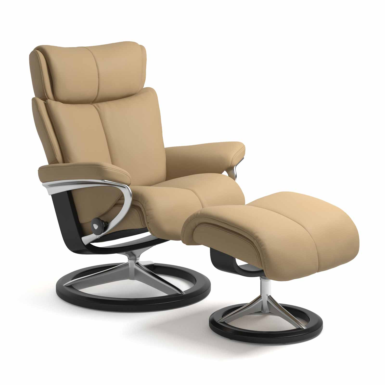 Stressless Magic Signature Sessel Stressless Sessel Magic Signature Paloma Sand Mit Hocker
