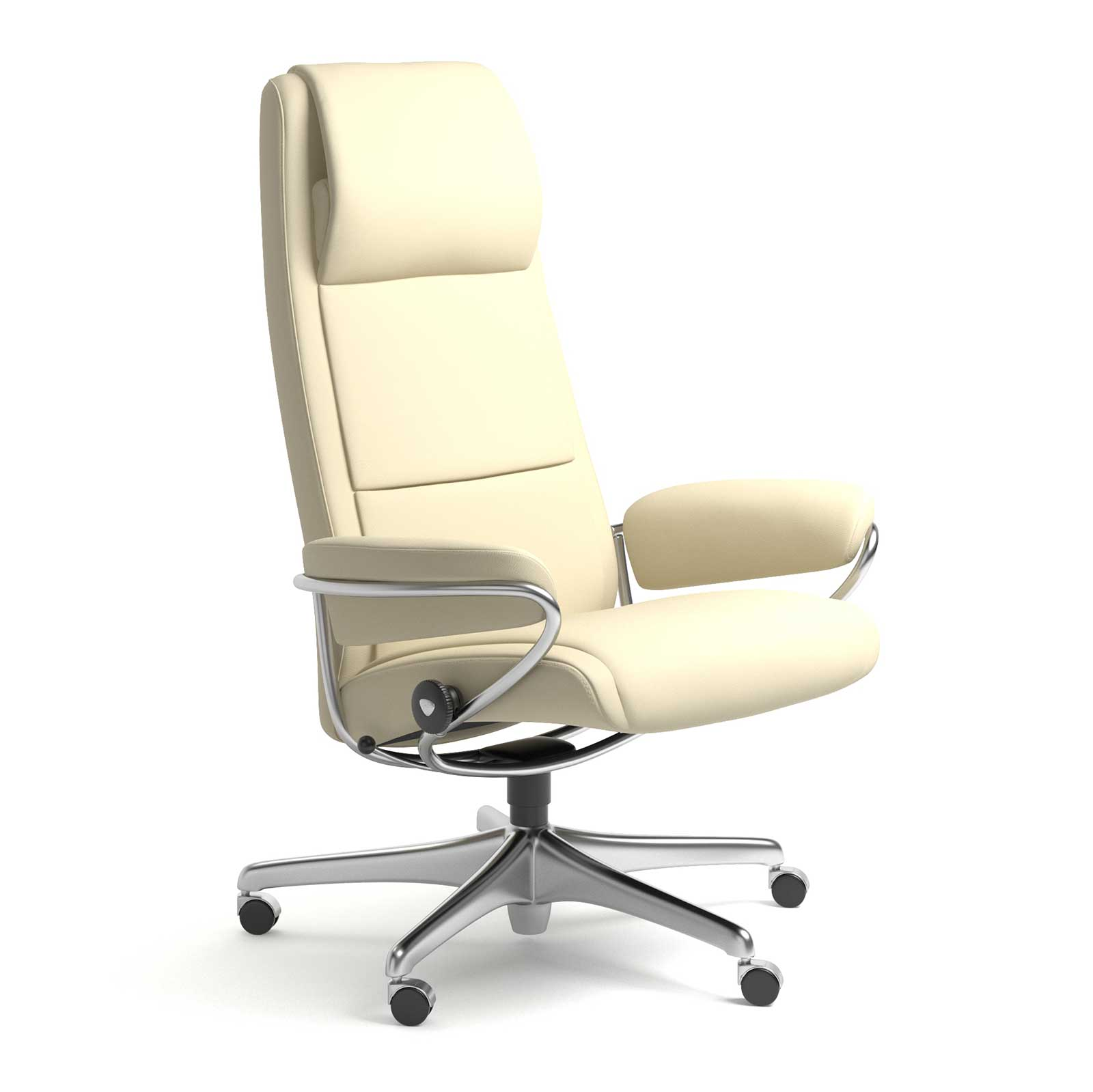 Stressless Sessel Paris High Back Stressless Ledersessel Paris Home Office Hohe Lehne Paloma Vanilla
