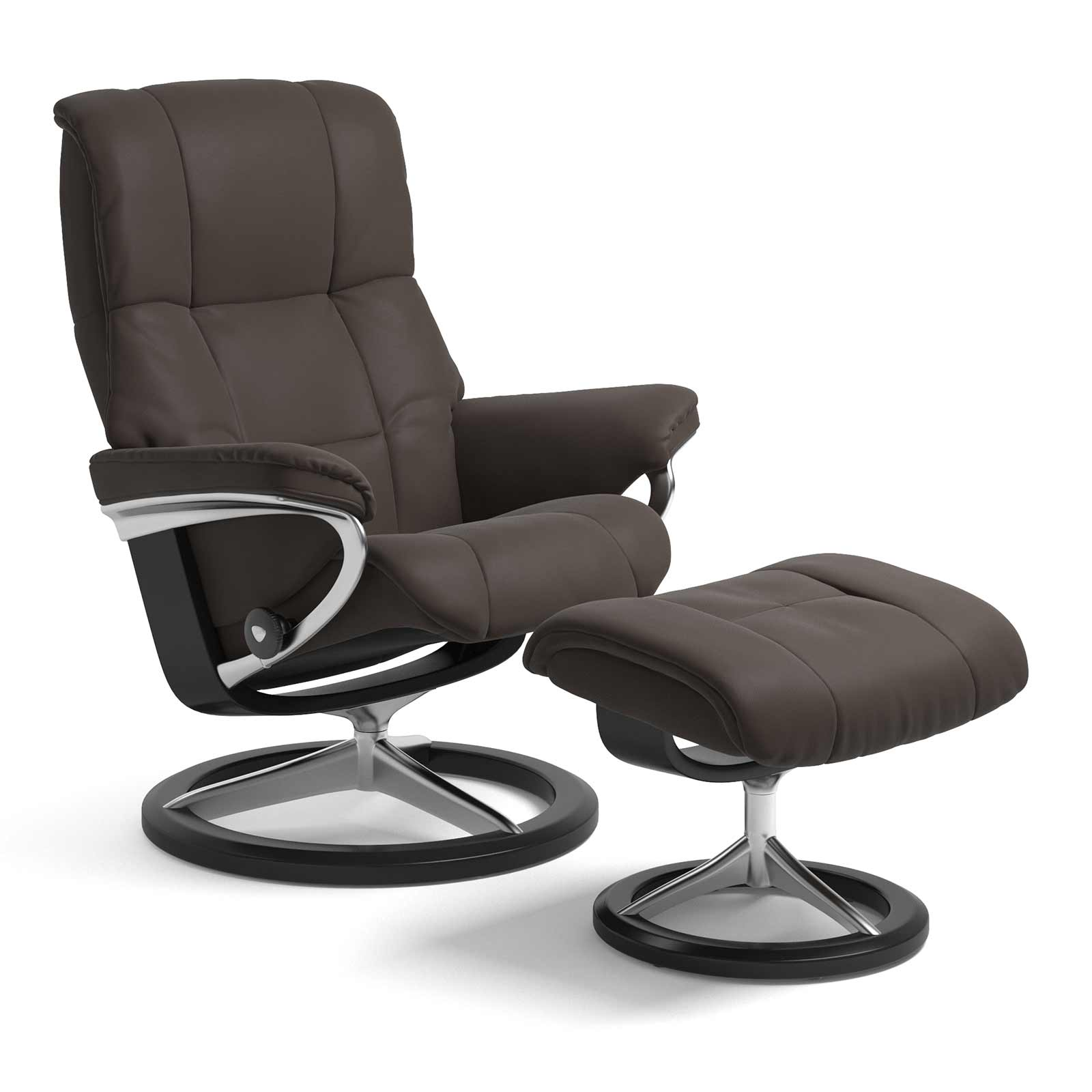 Stressless Wing Signature Sessel Stressless Sessel Mayfair Signature Paloma Chestnut Mit Hocker