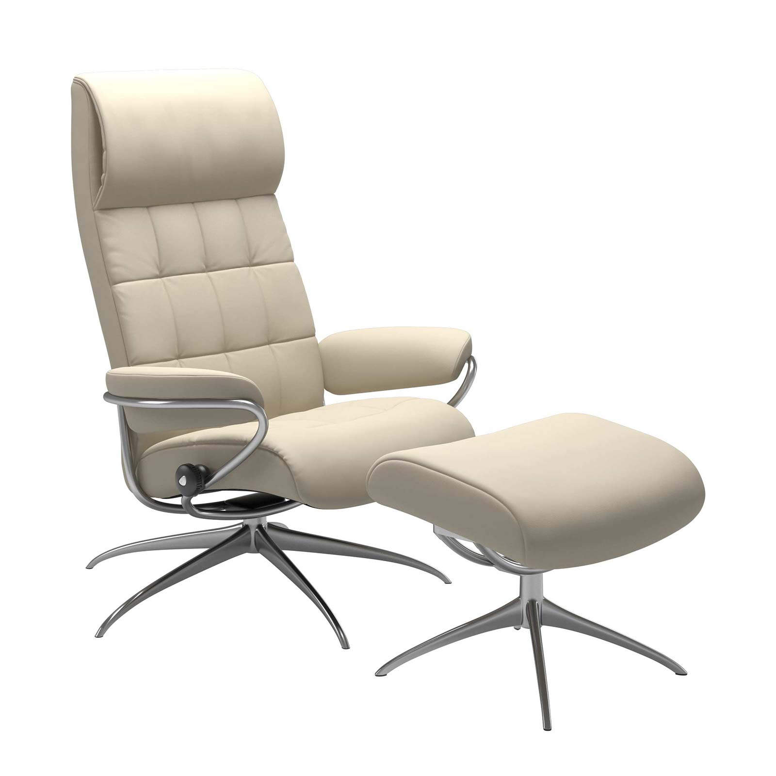 Stressless London Sessel Mit Hoher Lehne Lederfarbe Cream