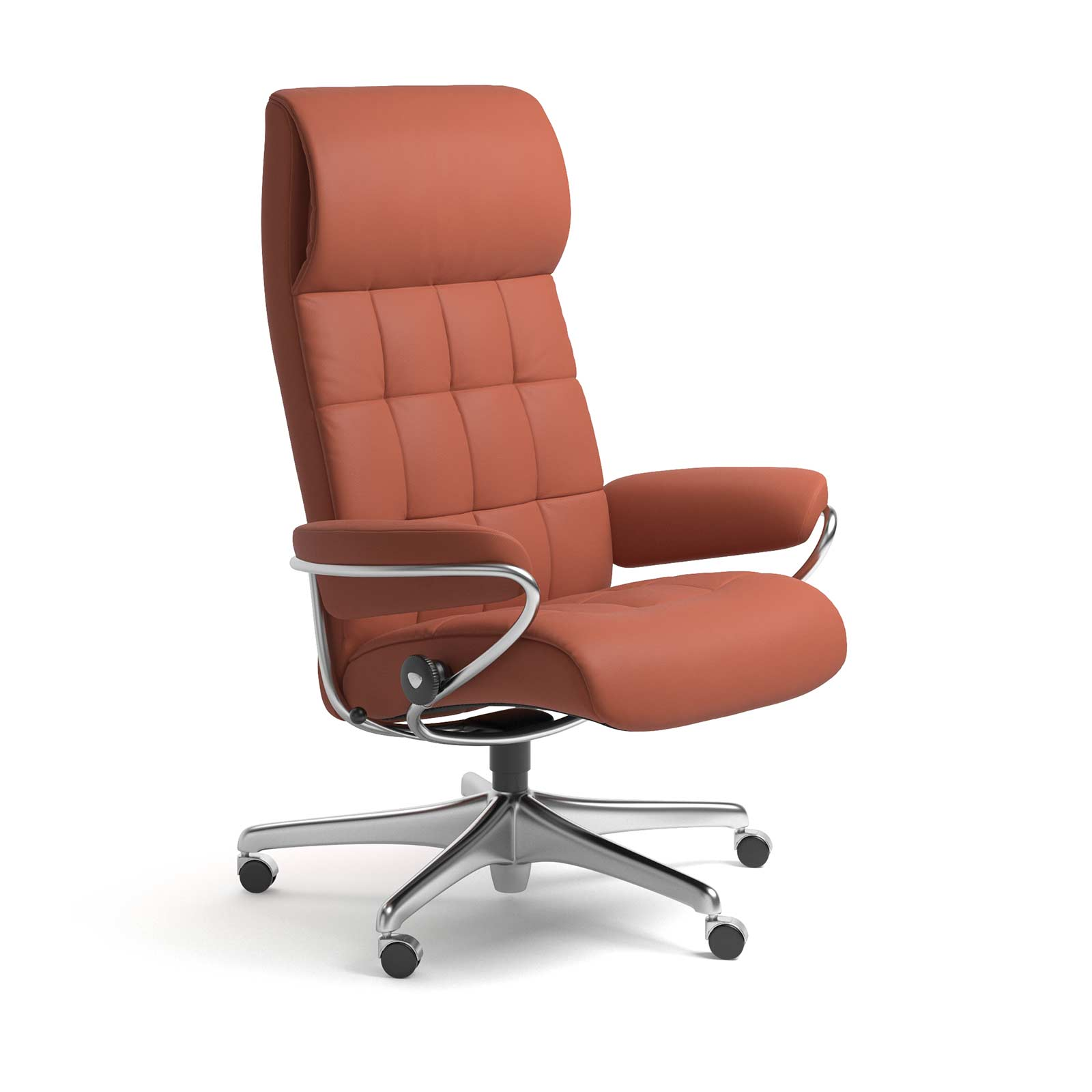 Stressless London Luxuriöser Leder Bürostuhl Stressless