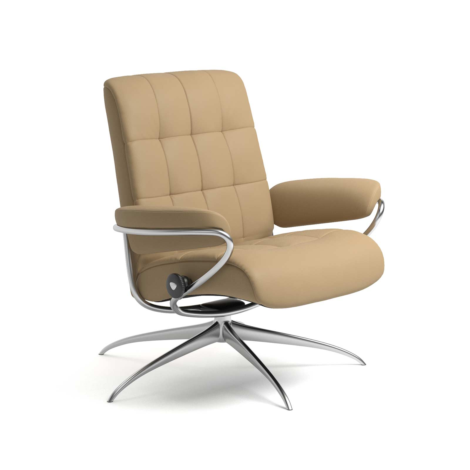 Stressless Lederfarben Stressless Sessel London Niedrige Lehne Paloma Sand