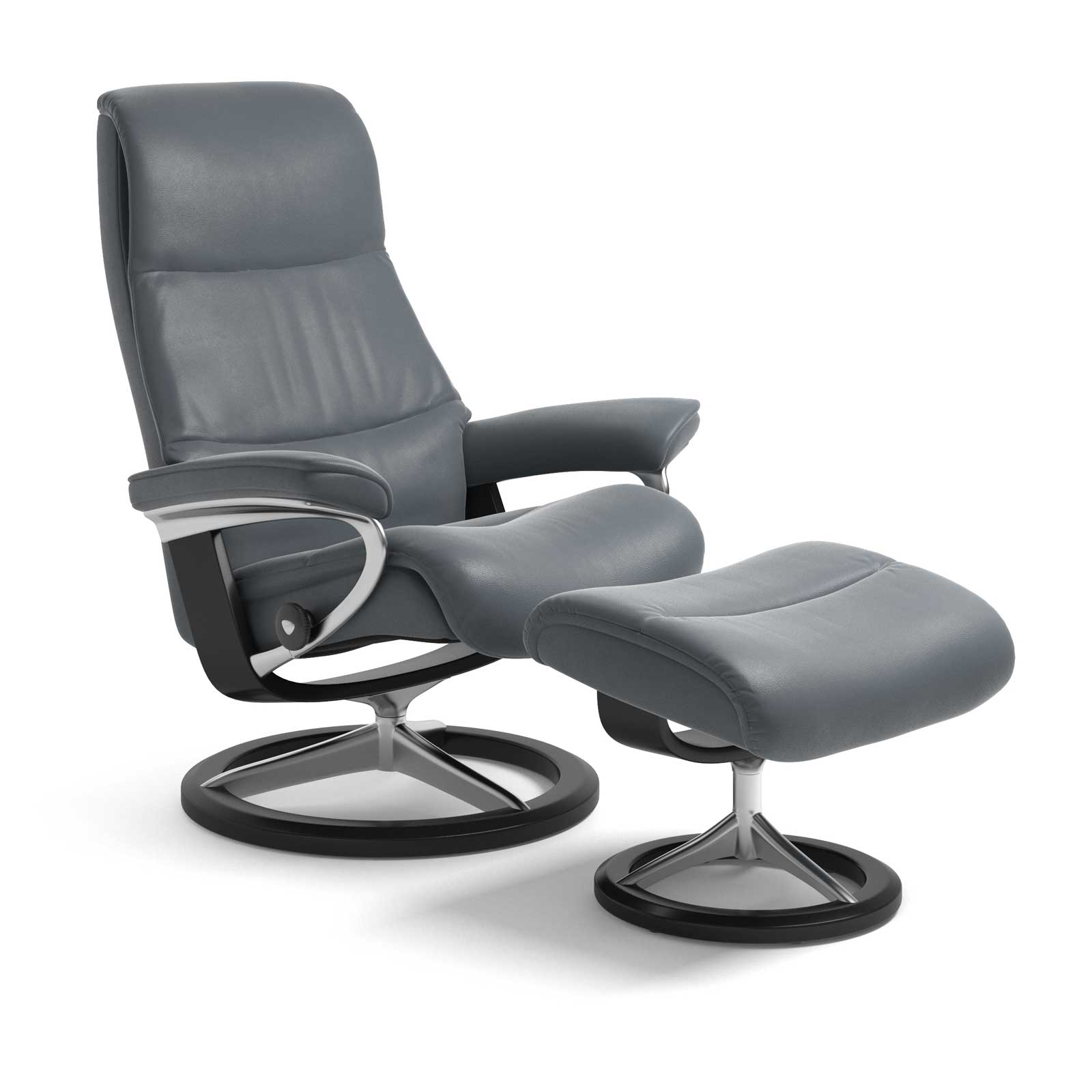 Stressless Magic Signature Sessel Stressless Sessel View Signature Batick Atlantic Blue Mit