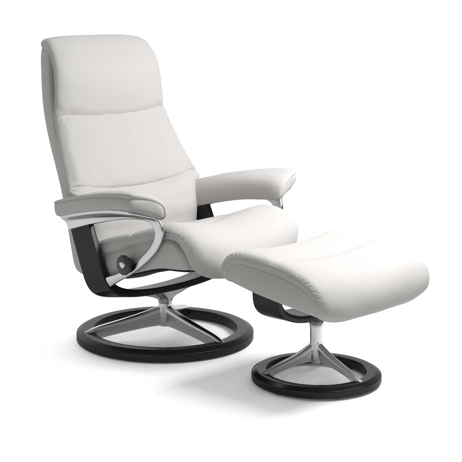 Stressless Wing Signature Sessel Stressless Sessel View Signature Batick Snow Mit Hocker