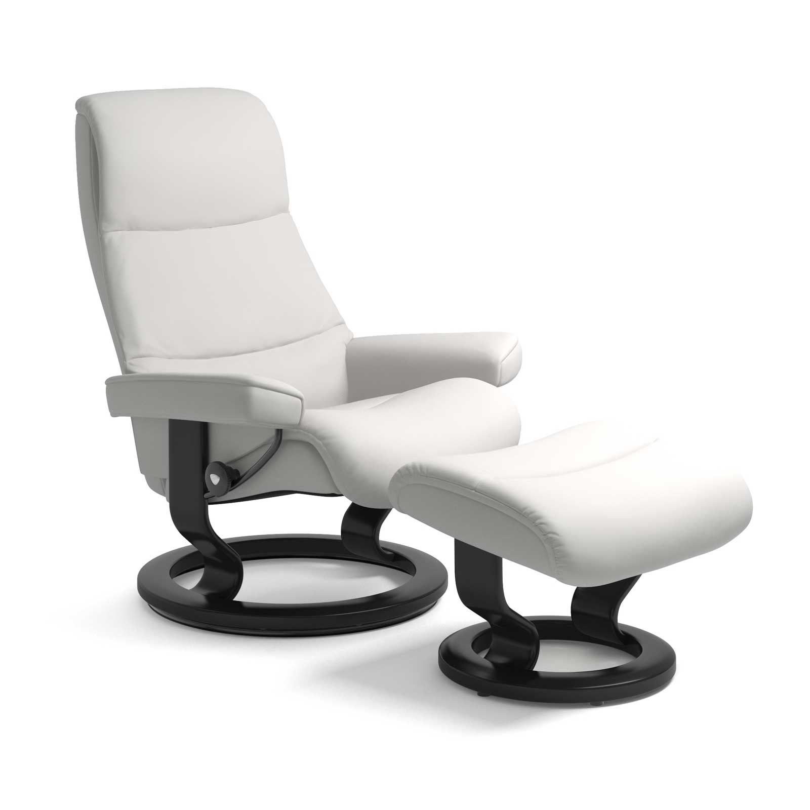 Sessel Mit Liegefunktion Modern Stressless Sessel View Classic Batick Snow Mit Hocker