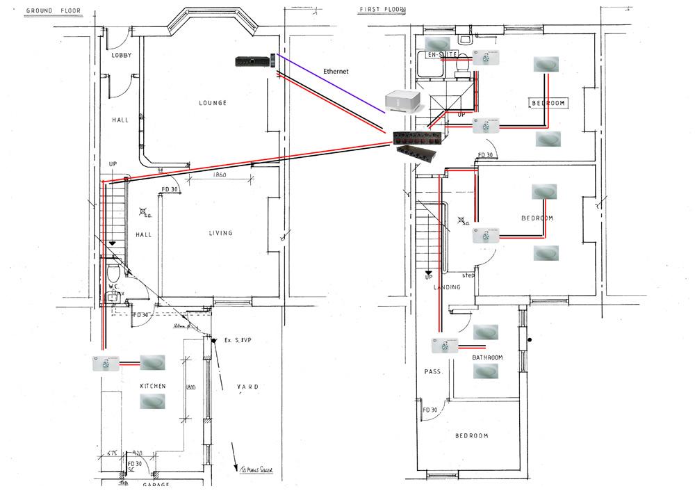 sonos multi room wiring diagram