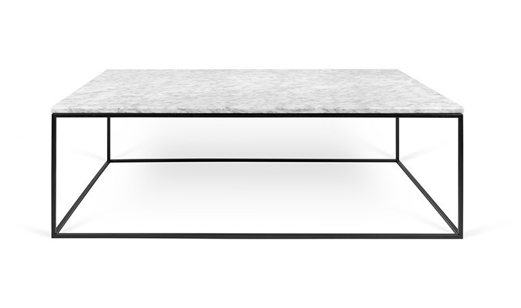 Meuble Tv Hauteur 120 Cm Table Basse Rectangulaire En Marbre Blanc De Carrare