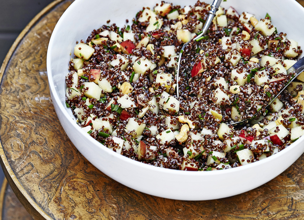Quinoa With Apples And Cashews