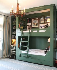 Small Space Solution: Built-In Bunk Beds For Kids' Rooms