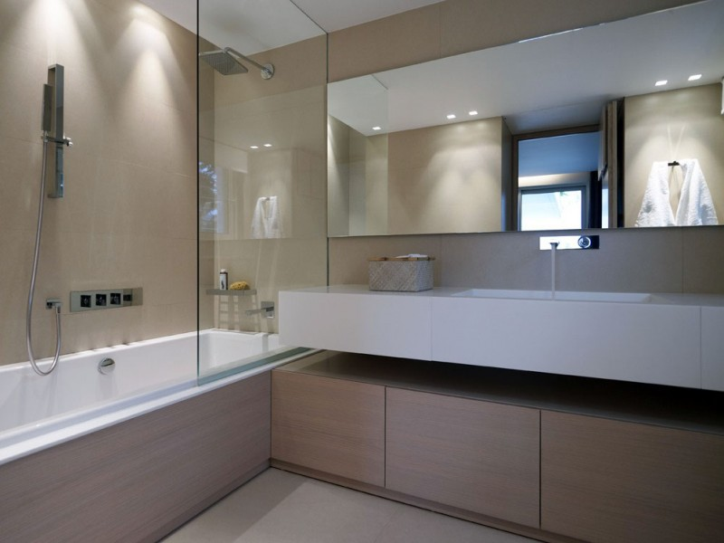 Best Bathroom Mirror Stylish Contemporary Apartment For Youthful Soul Residence