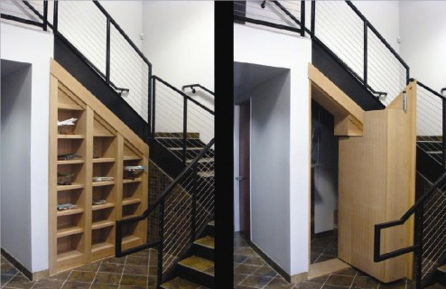 Creative Hidden Spaces Idea With Inspiring Pictures