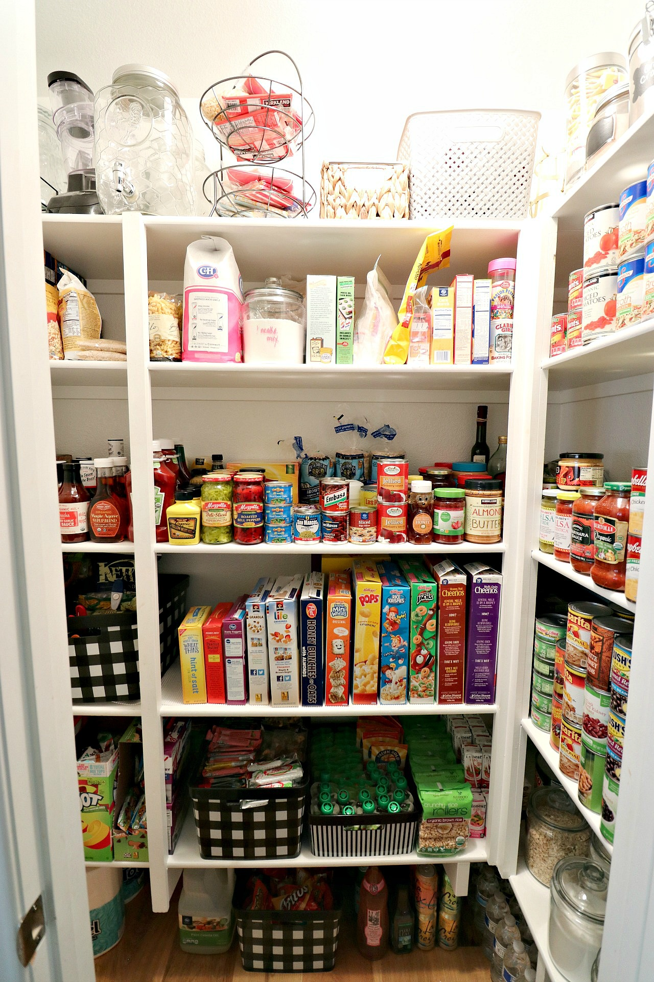 Pantry Organization Pantry Organization Makeover With The Container Store House