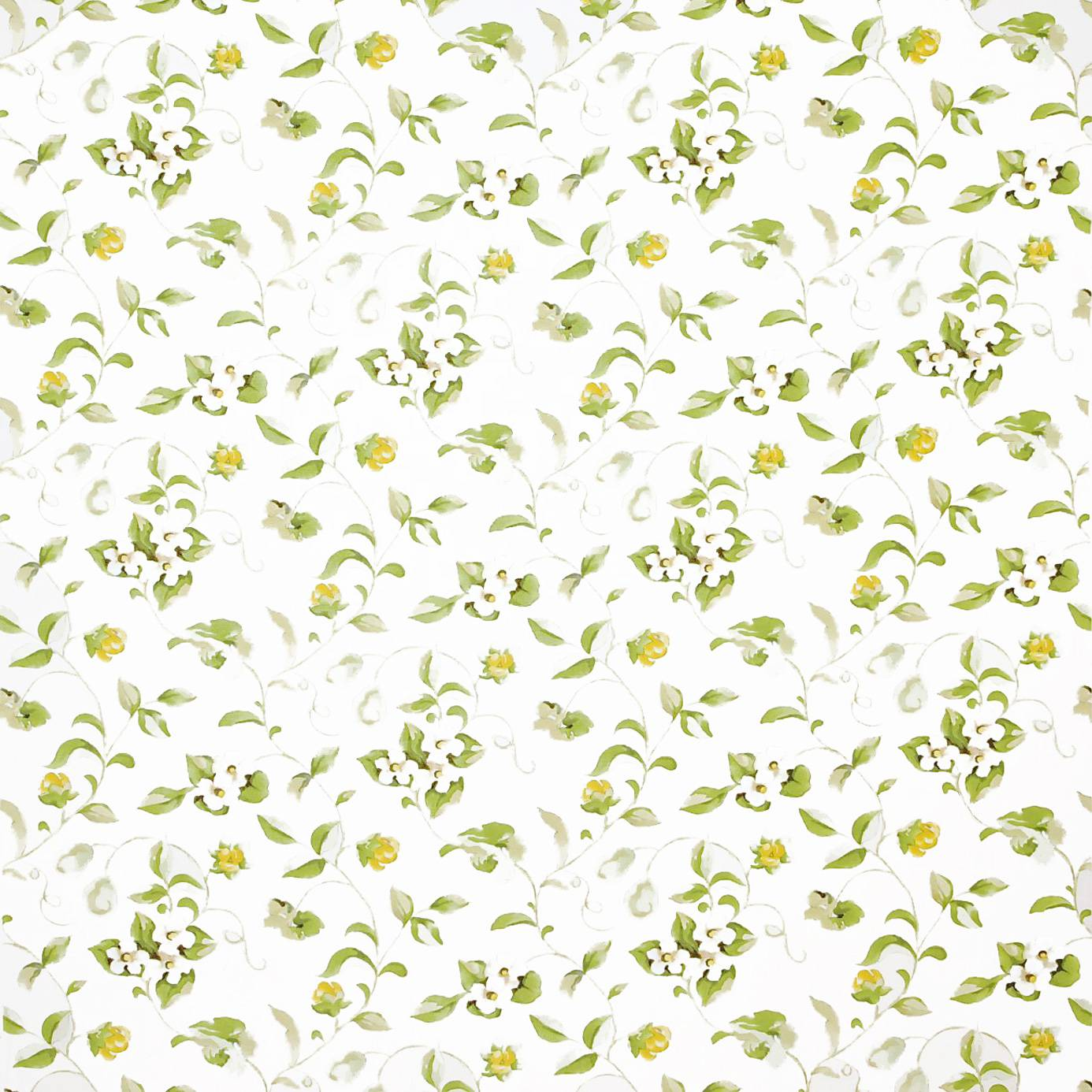 Lemon Green Curtains Curtains In Sanderson Orchard Blossom Fabric Lemon Green Product Code Dapgor202