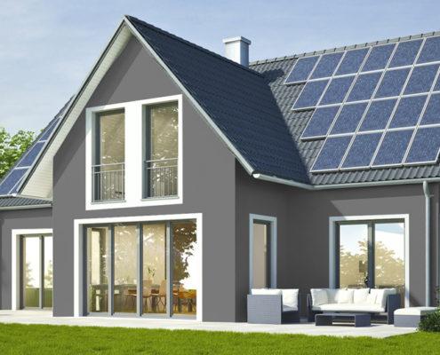 Fassadengestaltung Einfamilienhaus Grau harzite - fassadenfarbe beispiele