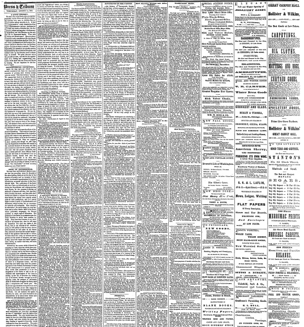 Any Suggestions for Reading Nineteenth-Century Newspapers? - newspaper