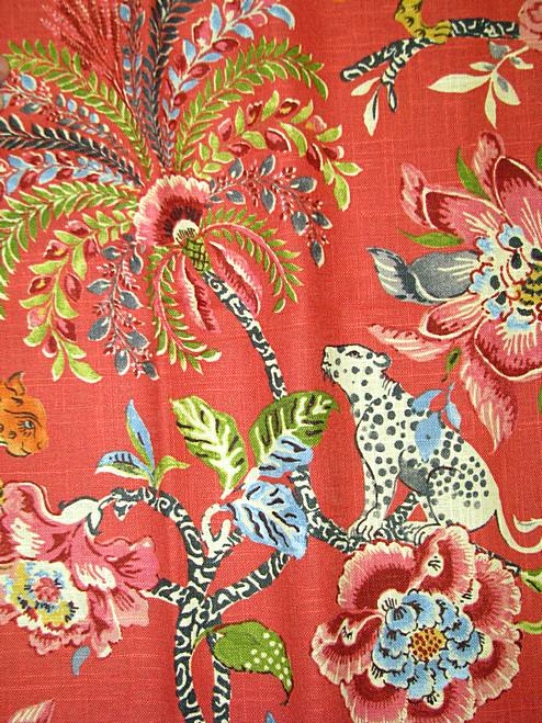 Asian Decor Braganza Spice | Waverly Fabric
