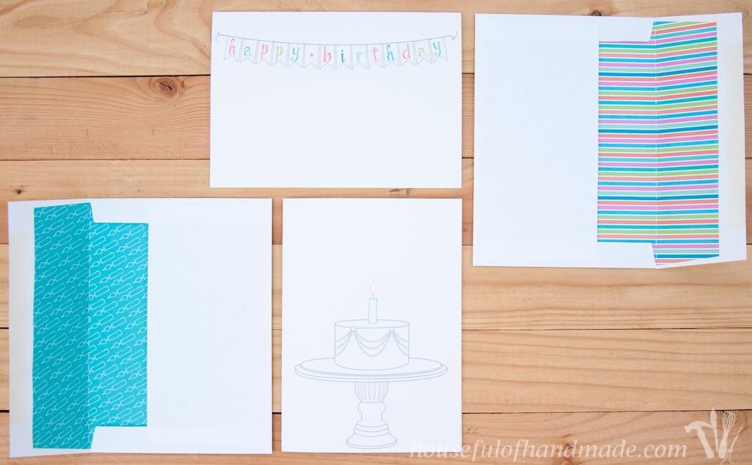 Free Printable Birthday Cards - Houseful of Handmade