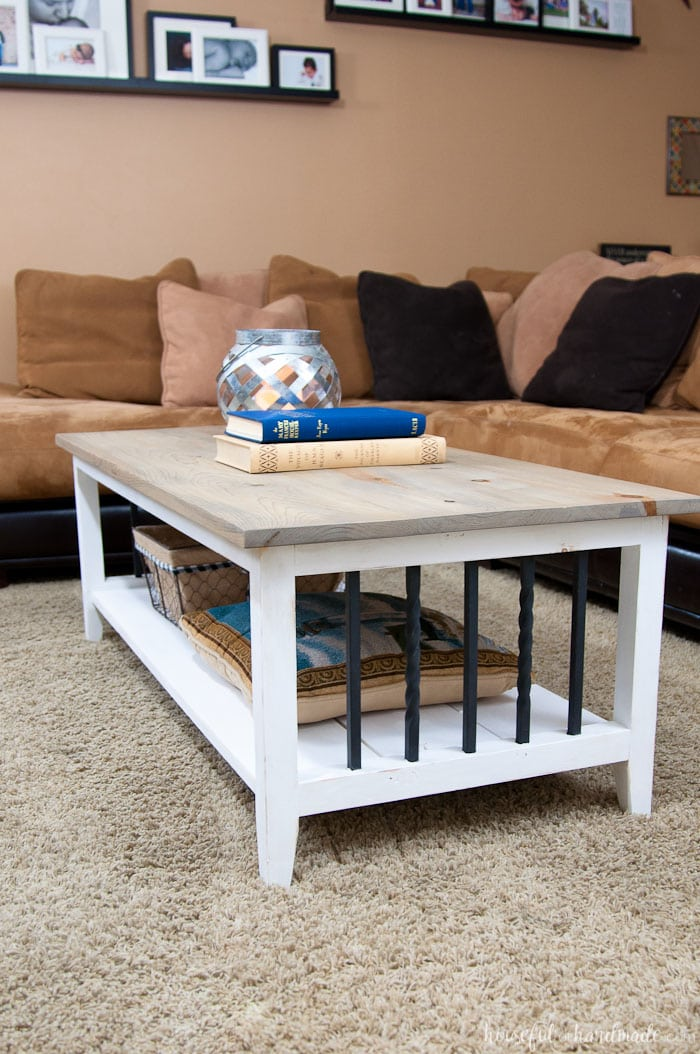 Farmhouse Coffee Table Build Plans
