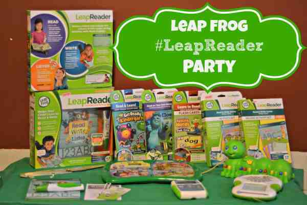 #LeapReader Party Leap Frog