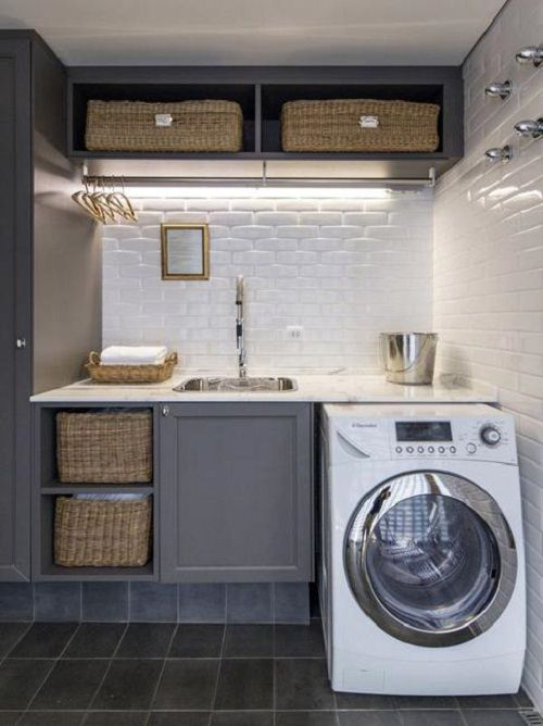 Ikea Plancha 20 Space Saving Ideas For Functional Small Laundry Room