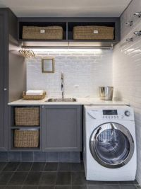 20 Space Saving Ideas for Functional Small Laundry Room ...
