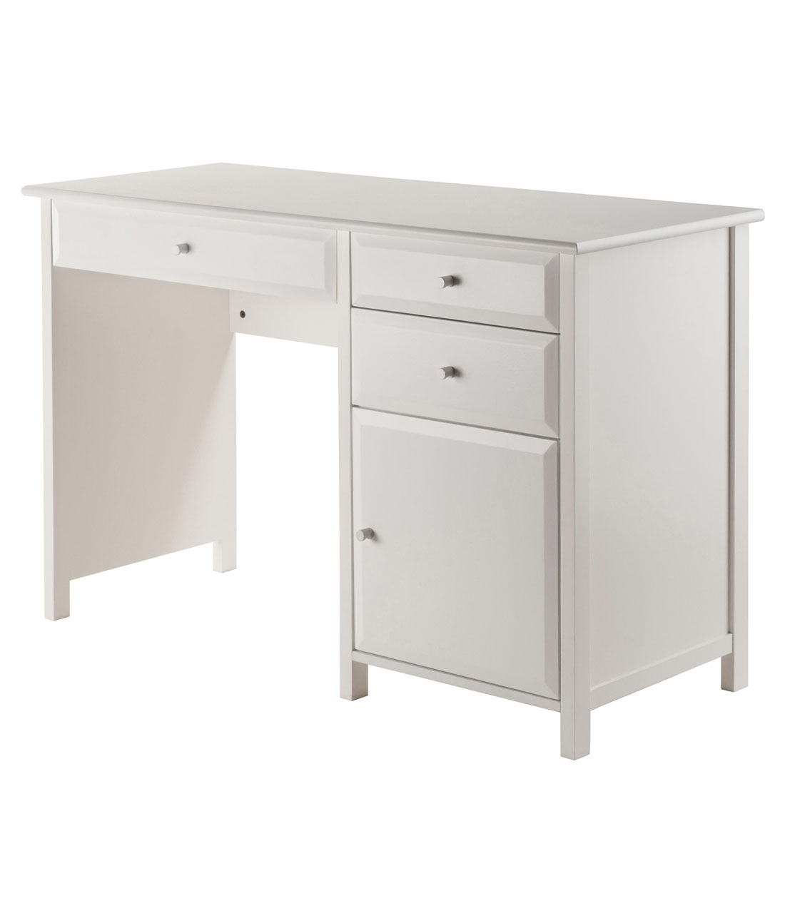 White Office Desk Winsome Wood Delta Office Writing Desk White