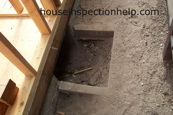 Exterior Landscaping Crawl Space Access Opening