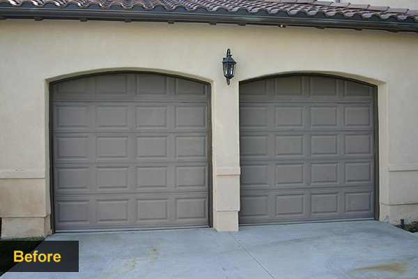 Replace Doors Garage Door Makeovers Wood Garage Doors Houselogic