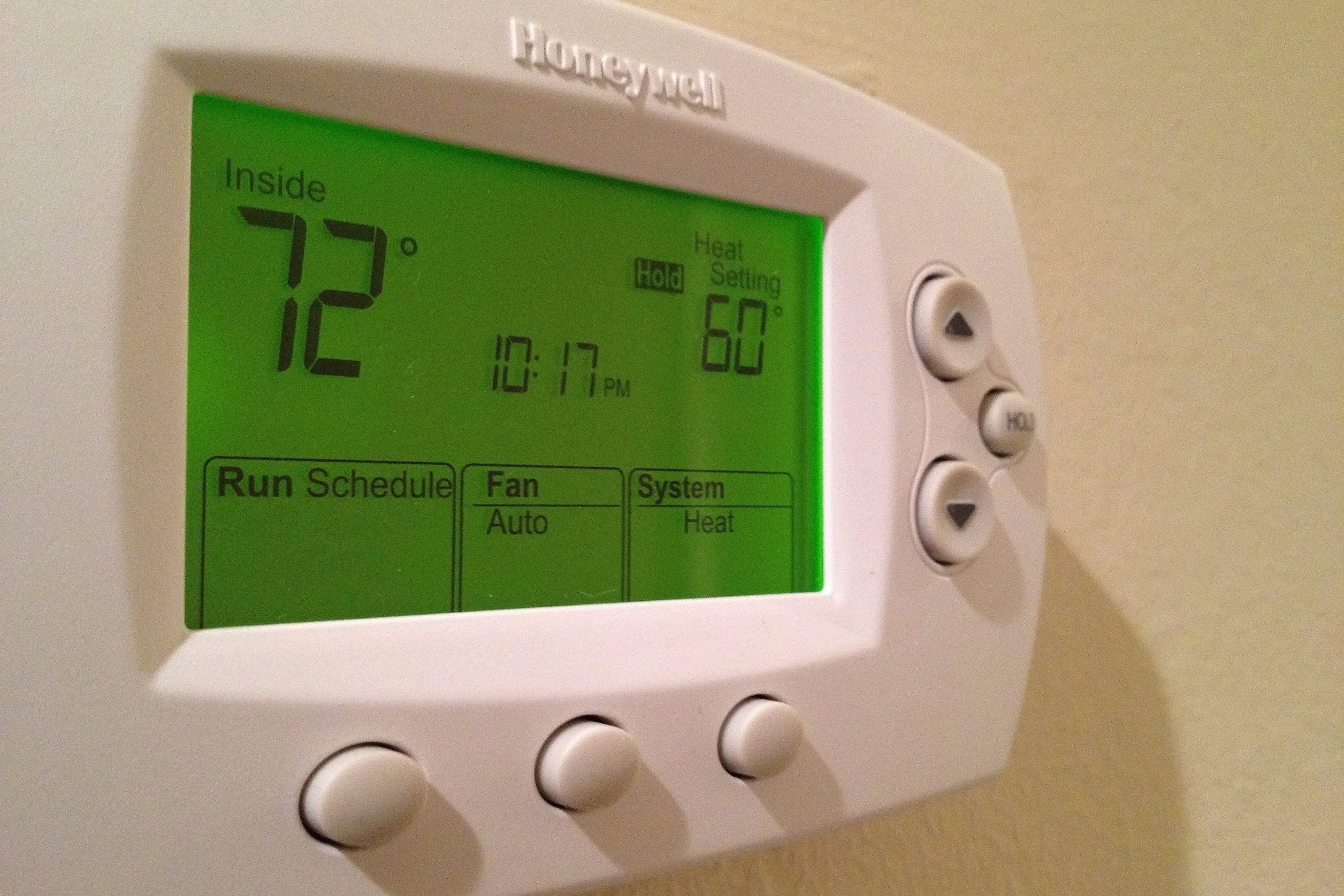 Honeywell Programmable Thermostat Programmable Thermostat How To Use Set For Every Season