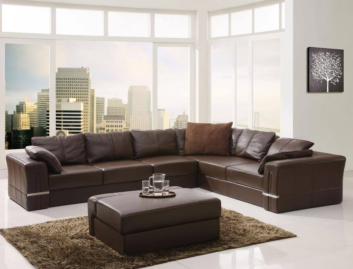 Leather Couch Ideas 20 Cool Sectional Leather Couch Ideas
