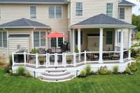 Covered Deck - Decks R Us LLC - House & Home Magazine