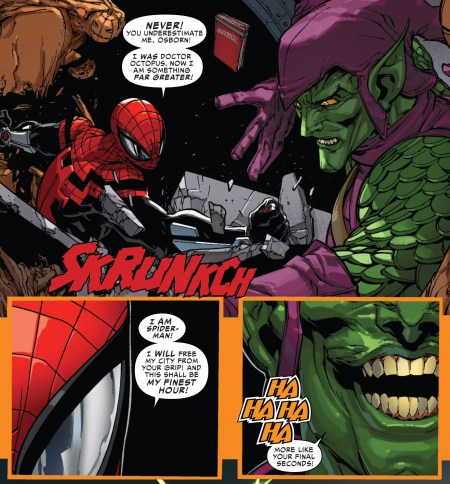 Spiderman V Green Goblin