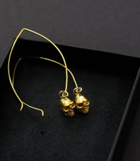 Skull Earrings // Nafsu by Studio Paras - House of Formlab