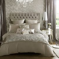 Kylie Minogue Alexa Silver bed linen range - House of Fraser