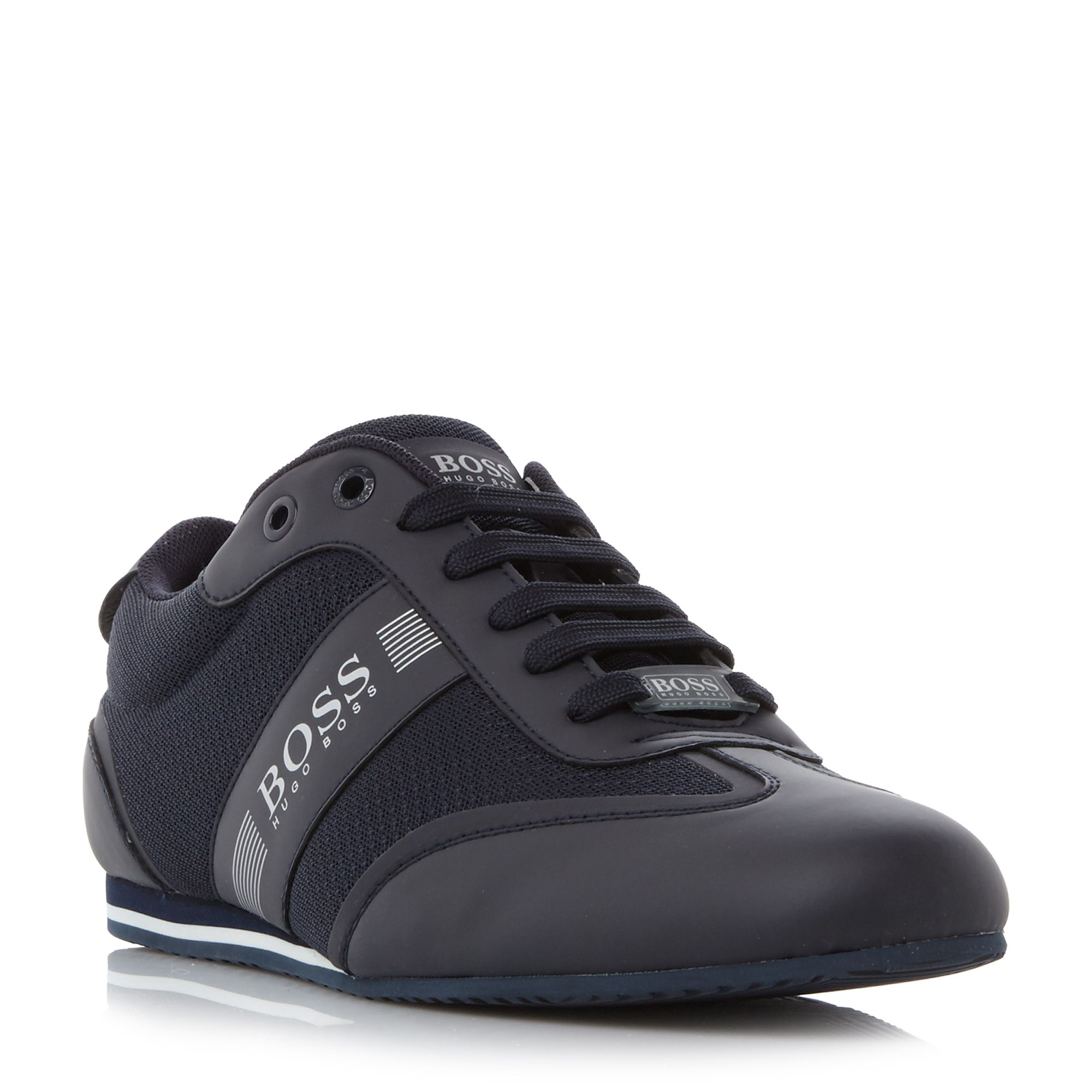 Hugo Boss Sneakers Hugo Boss Lighter Low Mesh Panel Wingtip Trainers