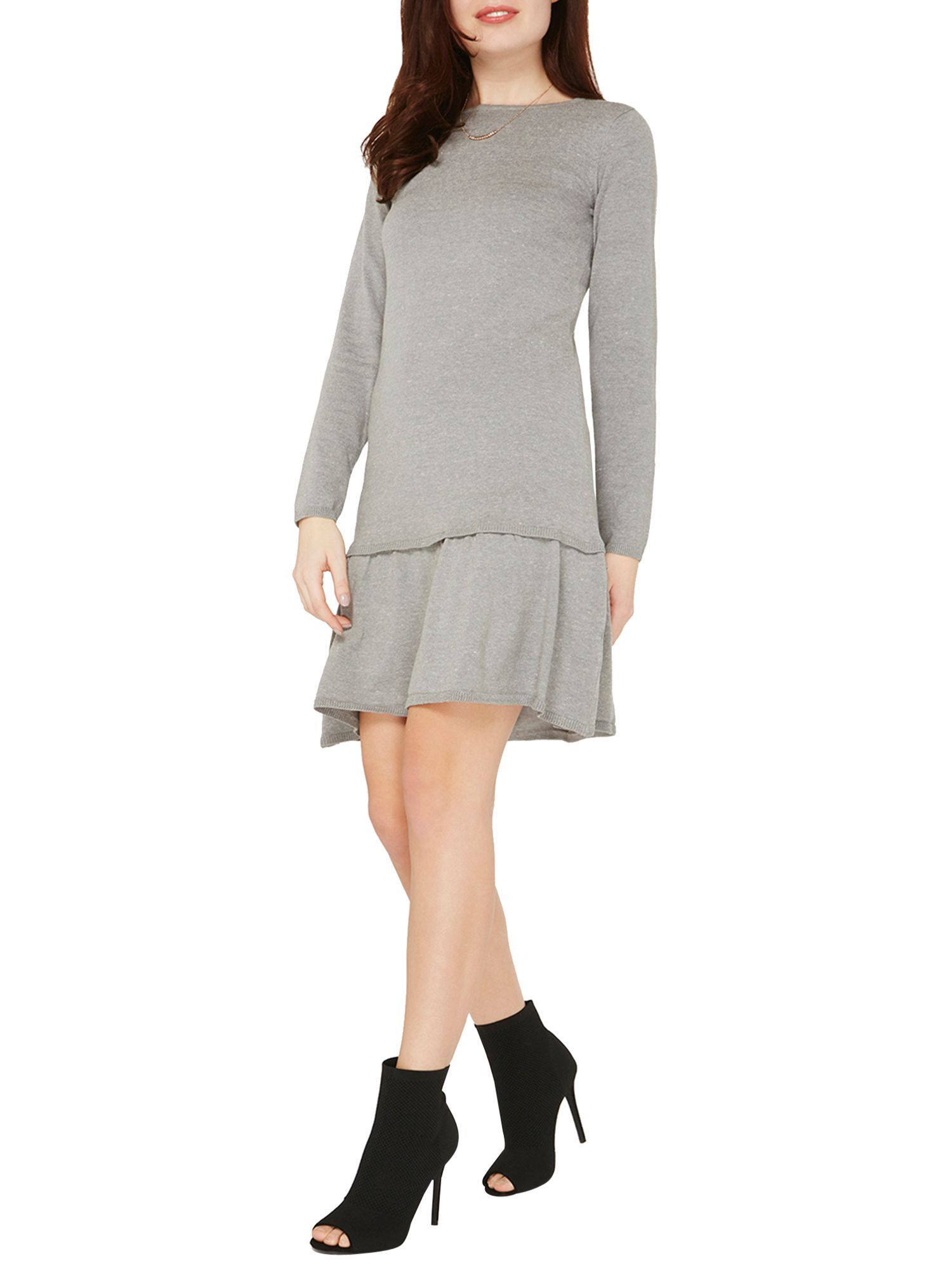 Dressing Perkin Perfect Dorothy Perkins Frill Hem Knitted Dress Dorothy