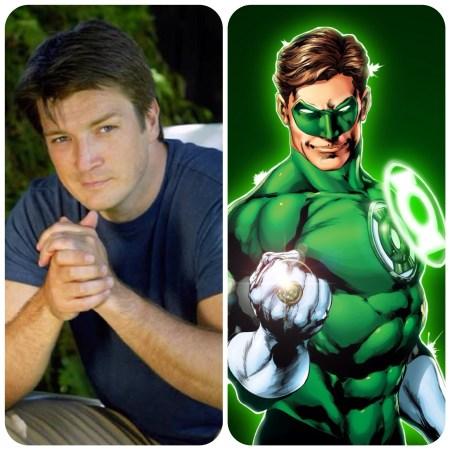 Green Lantern Love Scene
